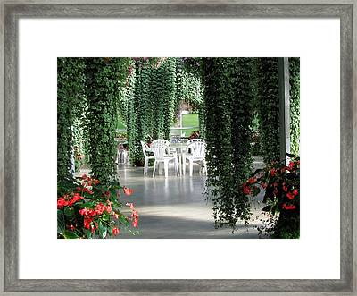 Framed Print featuring the photograph Juneau Glacier Gardens by Jennifer Wheatley Wolf