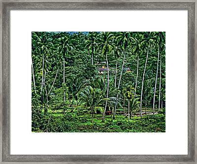 Jungle Life Framed Print by Steve Harrington