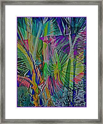 Jungle Lights Framed Print