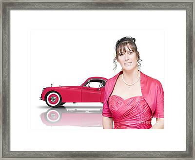 Just Married Framed Print by Jorgo Photography - Wall Art Gallery
