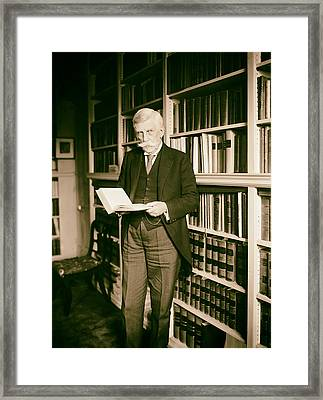 Justice Oliver Wendell Holmes 1924 Framed Print by Mountain Dreams