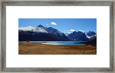 Kailash Mansarovar Framed Print by Yue Wang