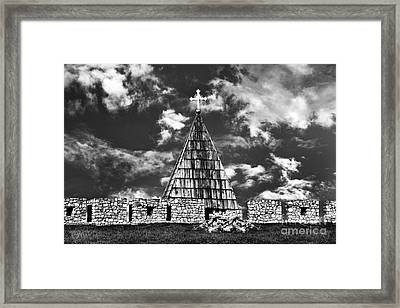 Kalemegdan Fortress Church Framed Print by Milan Karadzic