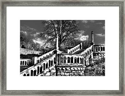 Kalemegdan Fortress Stairs Framed Print by Milan Karadzic