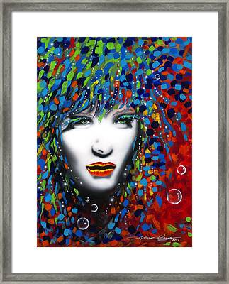 Kaliede Framed Print by Alicia Hayes