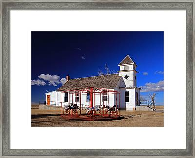 Kansas Preserved Framed Print by Christopher McKenzie