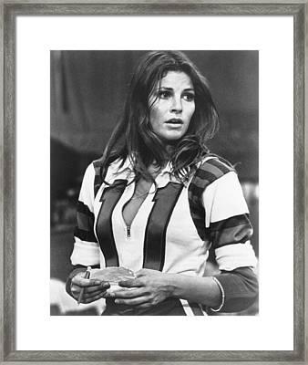 Kansas City Bomber, Raquel Welch, 1972 Framed Print