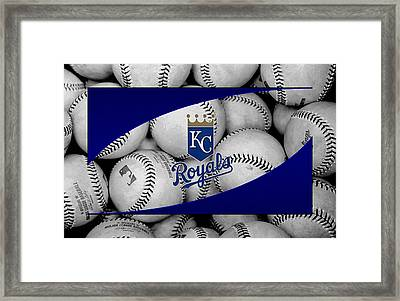 Kansas City Royals Framed Print
