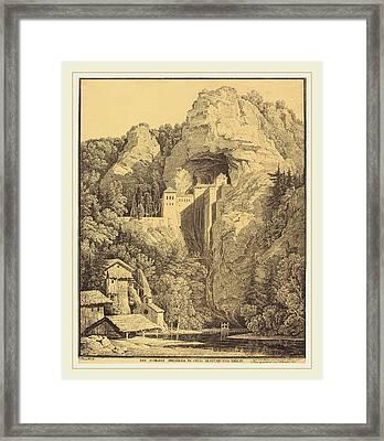 Karl Friedrich Schinkel German, 1781-1841 Framed Print by Litz Collection
