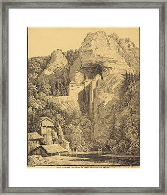 Karl Friedrich Schinkel German, 1781 - 1841 Framed Print by Quint Lox