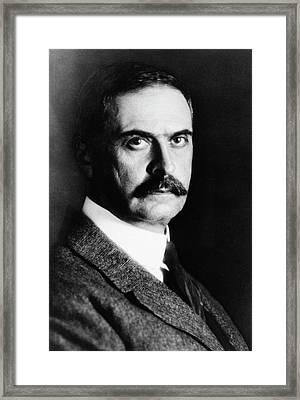 Karl Landsteiner Framed Print by National Library Of Medicine