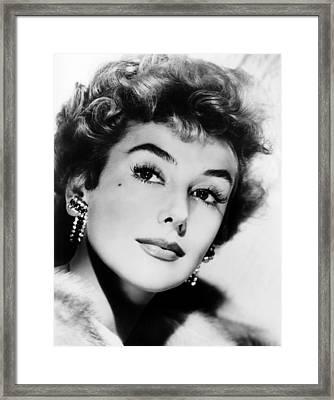 Kay Kendall, Ca. Mid-1950s Framed Print by Everett