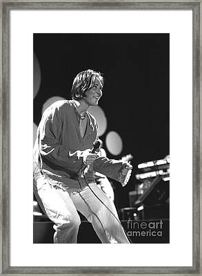 Kd Lang Framed Print by Concert Photos