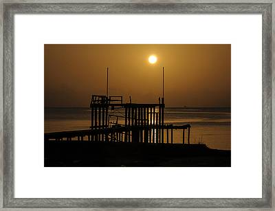 Keemah Sunrise Framed Print