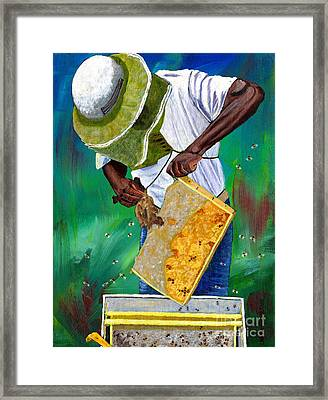 Keeper Of The Bees Framed Print