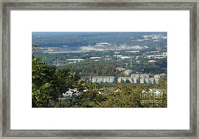 Kennesaw Battlefield Mountain Framed Print