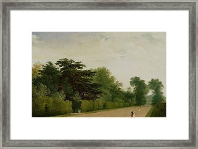 Kensington Gardens Framed Print by John Martin