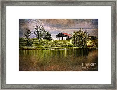 Kentucky Countryside Framed Print