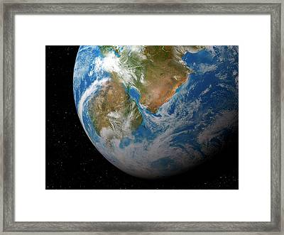 Kepler-62f Framed Print
