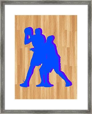 Kevin Durant Kobe Bryant Framed Print