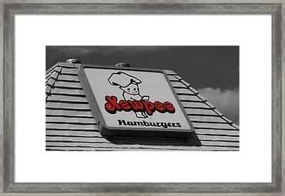 Kewpee Restaurant Framed Print