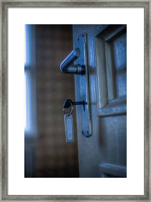 Key To The Door Framed Print