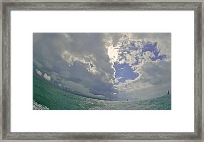 Key West Horizon Framed Print by Steven Lapkin