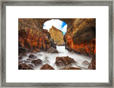 Keyhole Framed Print by Darren  White