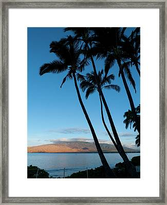 Kihei, Maui, Hawaii Framed Print