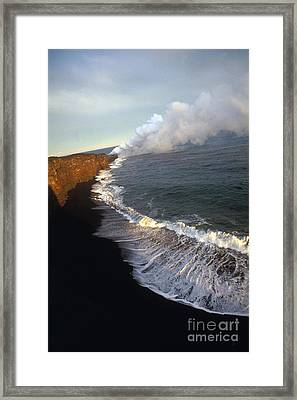 Kilauea Volcano, Hawaii Framed Print by Stephen & Donna O'Meara