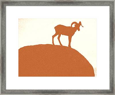 King Of The Dusk II Framed Print