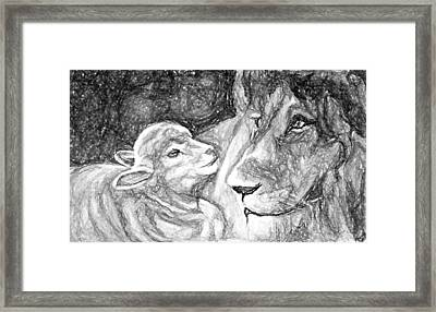 Kingdom Of Peace Framed Print