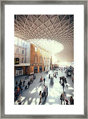 Kings Cross Station London Framed Print