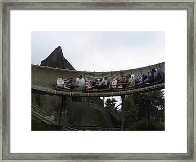 Kings Dominion - 12124 Framed Print by DC Photographer