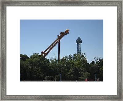 Kings Island - 12122 Framed Print by DC Photographer