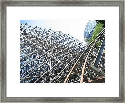 Kings Island - 121222 Framed Print by DC Photographer