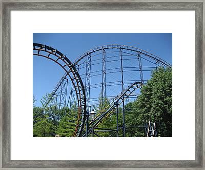 Kings Island - 121238 Framed Print by DC Photographer