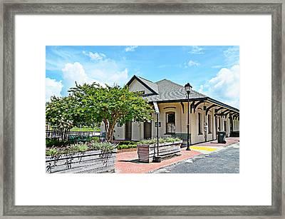 Kingstree Depot Framed Print