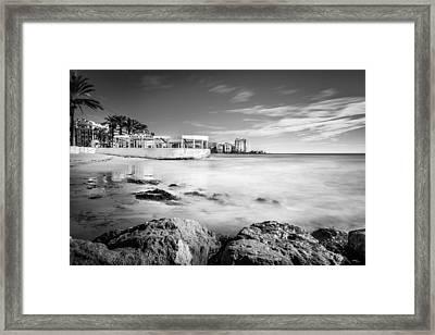 Framed Print featuring the photograph Kiosco El Tintero. by Gary Gillette