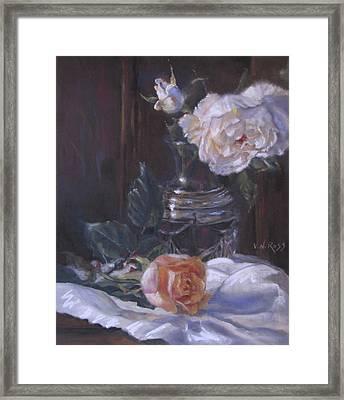 Kippy's Roses Framed Print