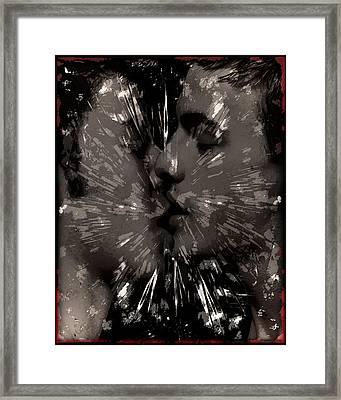 Kiss Framed Print by John Waiblinger