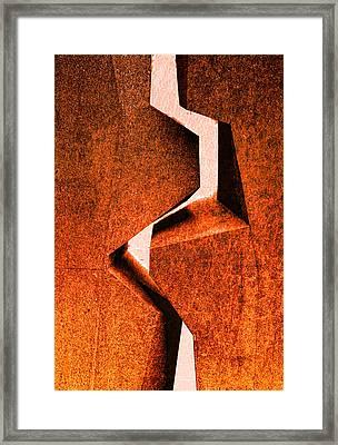 Kiss Framed Print by Kent Mathiesen