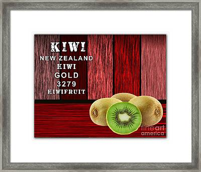 Kiwi Farm Framed Print by Marvin Blaine