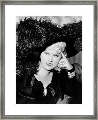Klondike Annie, Mae West, 1936 Framed Print