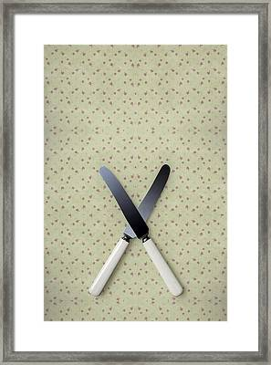 Knives Framed Print
