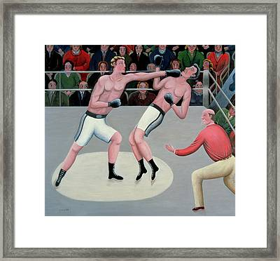 Knock-out Framed Print by Jerzy Marek