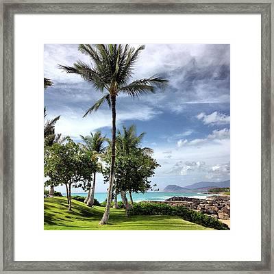 Ko Olina Lagoon Framed Print