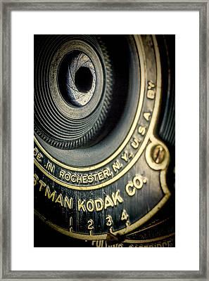 Kodak Hawkeye Framed Print by Rudy Umans