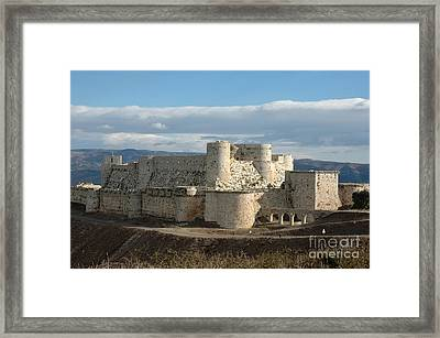 Krak Des Chevaliers, Syria Framed Print by Catherine Ursillo