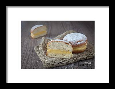 Krapfen Framed Prints